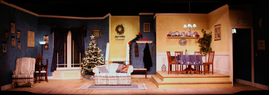Theatreworks new milford ct live theatre seasons greetings production reviews rolling in the aisles with ayckbourn seasons greetings m4hsunfo